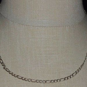Sterling Silver .925 GM Italy Chain Link Necklace